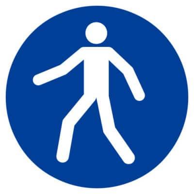 Verplichte doorgang voetgangers