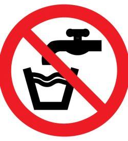 drinkwaterverbod