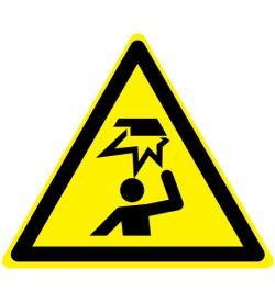 Waarschuwing laag hangende opstakels