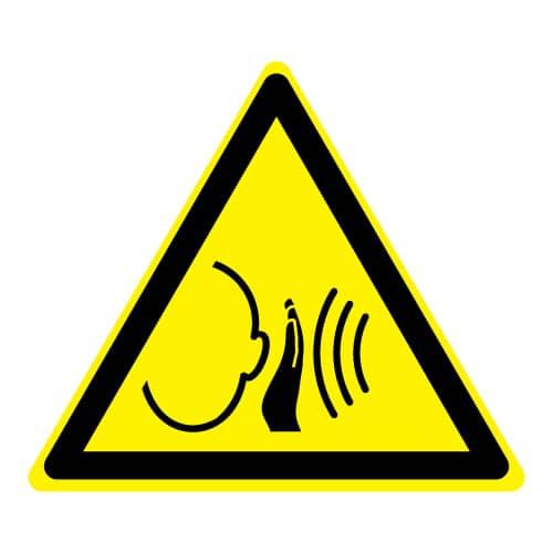 Waarschuwing plots hard geluid