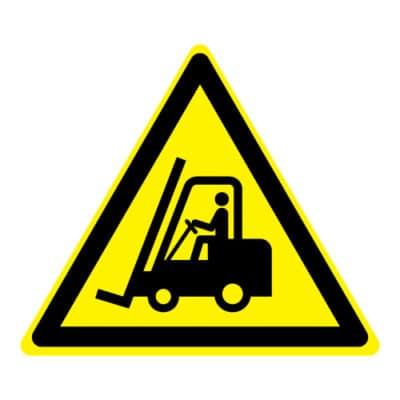 Waarschuwing transportvoertuigen