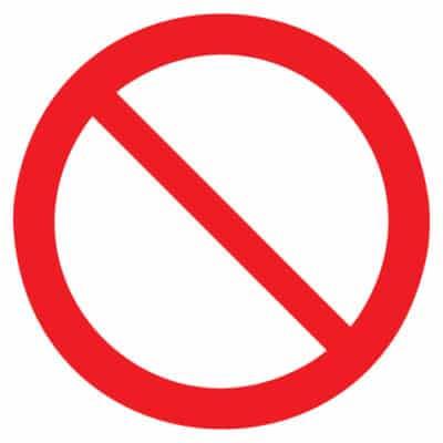 verbodsteken