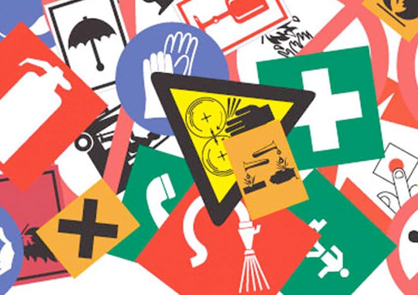 pictogrammen en signalisatie