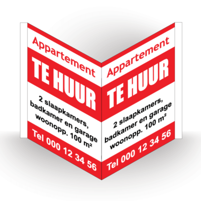immobord appartement te huur