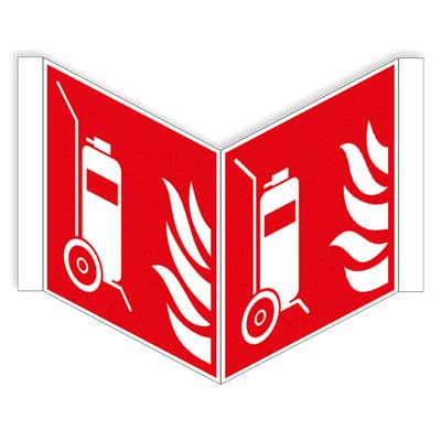Bluswagen panoramisch bordje