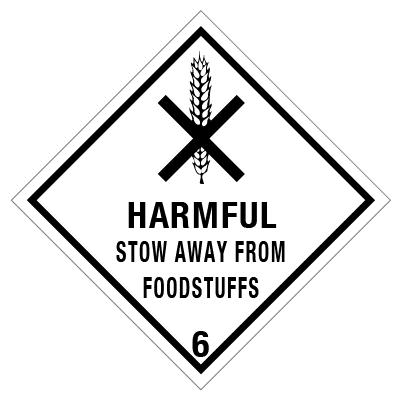 IMO label Harmful