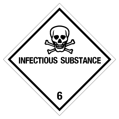 IMO label infectious substance