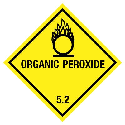 IMO Label organic peroxide 5.2