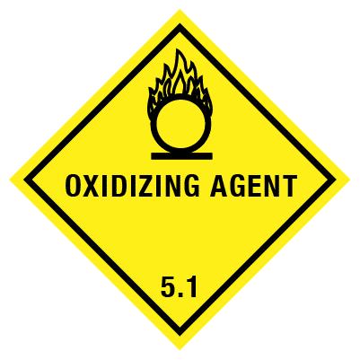 IMO Label oxidizing agent