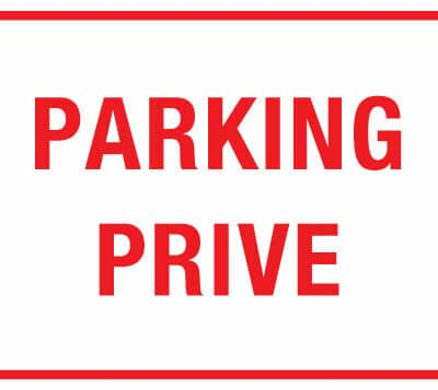 parking prive