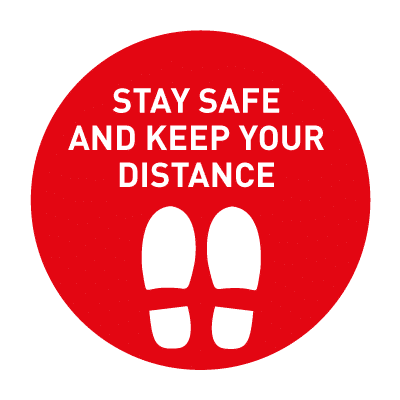 stay safe and keep distance